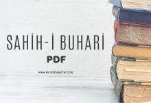 Photo of Sahih-i Buhari PDF Kitap